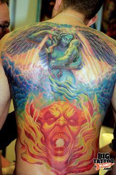 Frankfurt Tattoo Convention - Colour Tattoo | Big Tattoo Planet