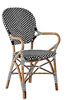 cute #black and #white wicker chair http://rstyle.me/n/c4i5fr9te