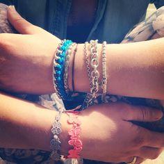 #my #bracelets #today # accessories #detail #cruciani #tiffany #dodo #powerpuff #diy #bluenailgirl #blogger