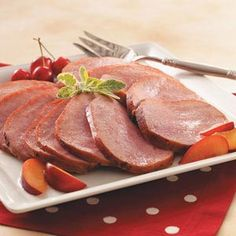 Honey-Glazed Ham Recipe from Taste of Home - perfect for potlucks! Shared by Jacquie Stolz of Little Sioux, Iowa
