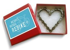 Eco-Friendly Gifts and Art made from Recycled Bike Parts - Resource Revival.