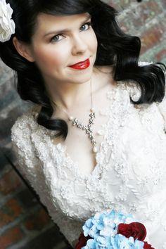Vintage beauty look for the wedding>> http://my.gactv.com/great-american-weddings/multigallery.esi?soc=pinterest