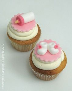 Baby Shower Cupcake Inspiration