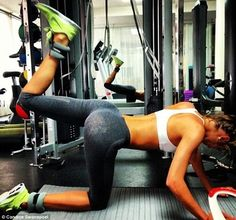 It combines 8 KILLER butt exercises into one ridiculously effective workout.