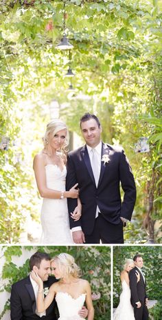 A stunning summer DIY wedding at a Spanish-style villa by BrittRene Photo || see more on artfullywed.com