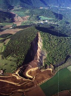Croscat Volcano,  Garrotxa Catalonia, Spain. Last erupted about 12,000 BC. There are four volcanoes in this area