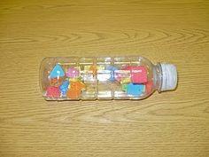 Water bottle toys..