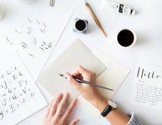 Calligraphy + Coffee 101 (via Bloglovin.com )