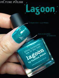 piCture pOlish x Fashion Polish = Lagoon!!!