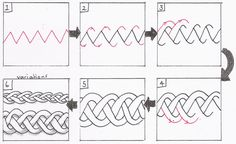 How to draw a simple Celtic knot. These are not easy to design, but so cool!