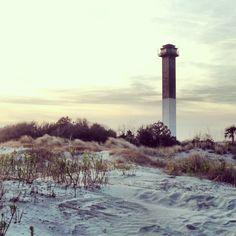 Sullivan's Island Lighthouse. Charleston SC