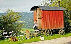 Kate's farm: Shepherd's hut - Telegraph