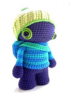 flickr, idea, craft, doll, awwwww, guy, crochetamigurumi, alien, angorafroschch