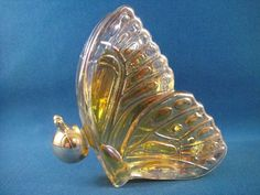Vintage Avon Butterfly Cologne Decanter by WishingWellsGlass, $14.00