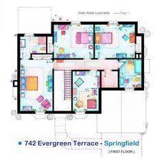 TV Show Floor Plans