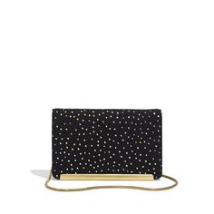 The Friday Clutch in Foil Dot - bags - Women's NEW ARRIVALS - Madewell