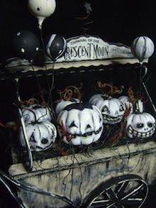 pumpkin art, gourd, halloween decorations, folk art, black white, painted pumpkins, display, white pumpkins, halloween ghost