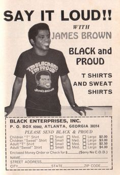 James Brown Black and Proud T-Shirts and...