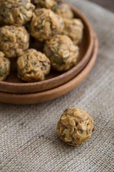 Pumpkin Spice Energy Bites|OhMyVeggies Pumpkin Spiced Protein Bites