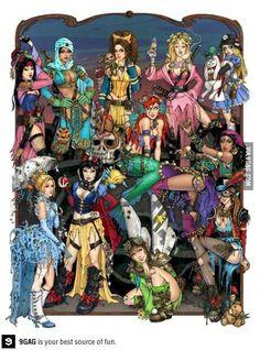 Apocalypse princesses