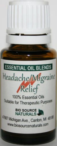 Essential Oils for Headaches & Aromatherapy for Migraine Headaches... Thanks Jen!!!