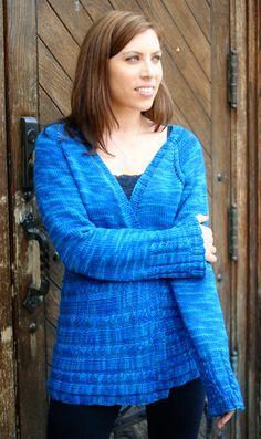Mr. Bluejeans Cardigan:#knit #knitting #free #pattern #freepattern #freeknittingpattern #knittingpattern