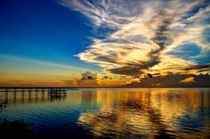 Indian River, Titusville, Florida, Sunrise