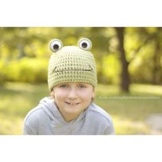 crochetingthruchronicdiseases crochet frog hat - #crochet on Instagram