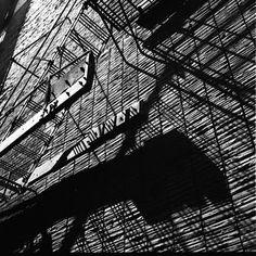 Vivian Maier - Wall Shadows