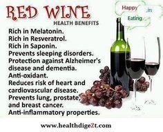 Red Wine Health Benefits ~ Visit Glenora Wine Cellars to purchase some Red Wine today! Finger Lakes, Seneca Lake.