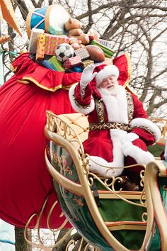Santa Claus at the Macy's Thanksgiving Day Parade