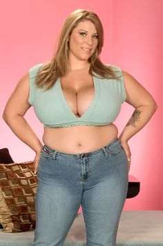 Renee Ross burning hot in denim