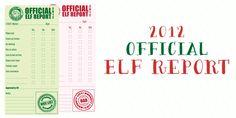 Magnolia Creative Co.: 2012 Official Elf Report