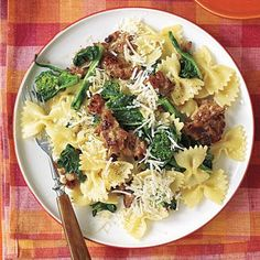 Easy dinner ideas: Pasta with Sausage and Broccoli Rabe
