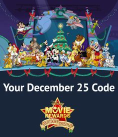 Your December 25 code is CTC25Y7 Click the image and enter on DMR today. (This code expires 12/26/13 at 11:59:59pm)