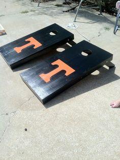Tennessee Cornhole Boards #emddesigns
