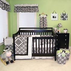 Baby Room - Green & Black