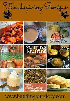 Thanksgiving Recipe Round-Up - #thanksgiving #recipes