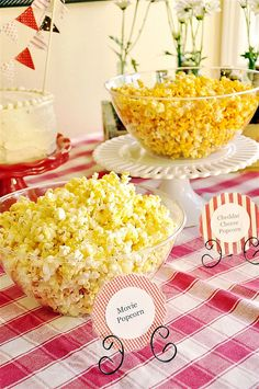 Popcorn Bar - I am definitely a popcorn lover!