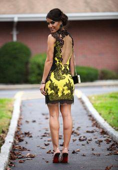 Yellow + lace #Brazilian