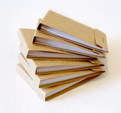 Miniature Matchbook Notepads
