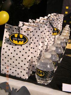 batman + polka dots