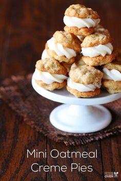Mini Oatmeal Creme Pies