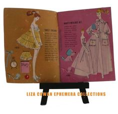 Barbie Booklet, Sweet Dreams. Liza Cowan Ephemera Collections.