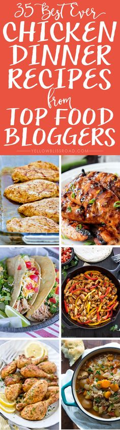 35 Best Ever Chicken