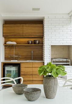 Airy Apartment Interior by Diego Revollo / kitchen