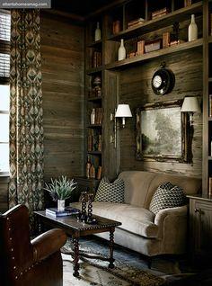 Luxe cabin cozy