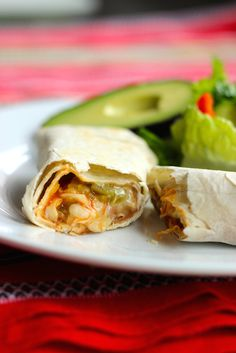 Green Chile Burritos - Make up a batch of these Green Chile Burritos for supper or to stash in the freezer at a later date. (goes with meal plan)