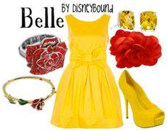 disney cloth, disney princesses, outfit, the dress, princess belle, disneybound, disney bound, the beast, disney fashion