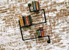 tube bookshelf